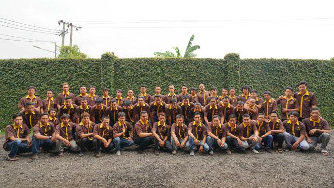 Staff PT Maggiollini Indonesia