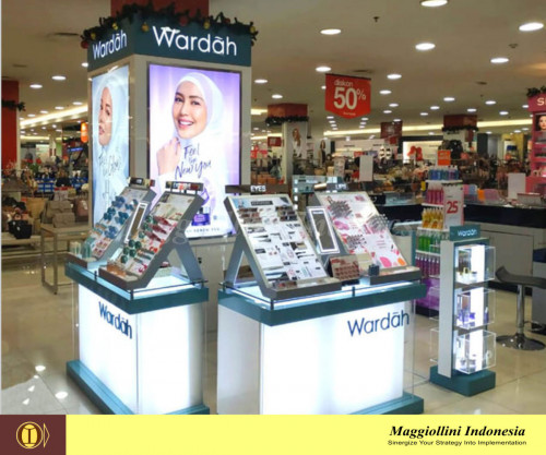 Counter Wardah Central Grand Indonesia
